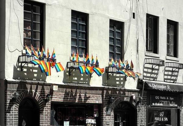 New York City Art Print featuring the photograph Rainbow History by Dan Stone