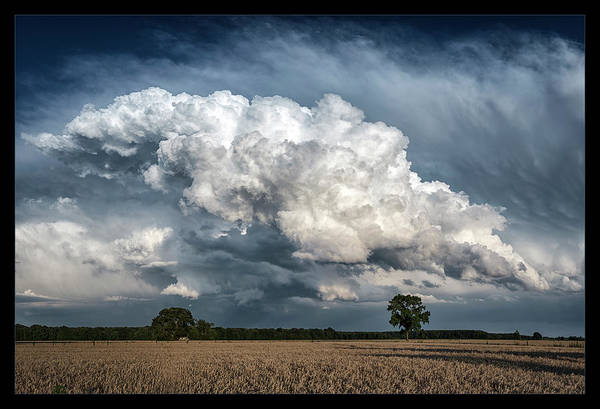 Maryland Art Print featuring the photograph Remnants Of A Storm by Robert Fawcett