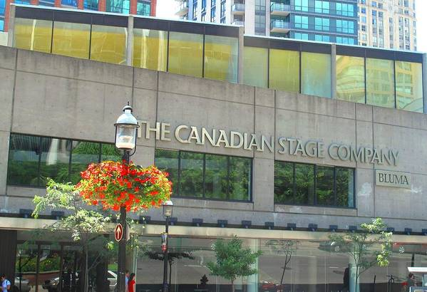 Canada Art Print featuring the photograph The Canadian Stage Company by Ian MacDonald