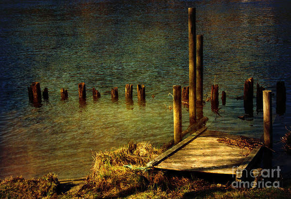Festblues Art Print featuring the photograph The Magic Hour.. by Nina Stavlund