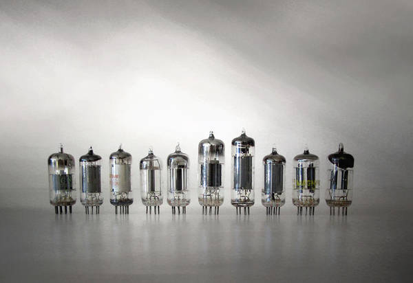 Am Radio Art Print featuring the photograph The Vacuum Tube by David and Carol Kelly
