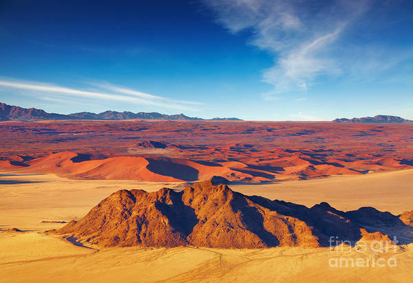 Heat Art Print featuring the photograph Namib Desert, Dunes Of Sossusvlei by Dmitry Pichugin