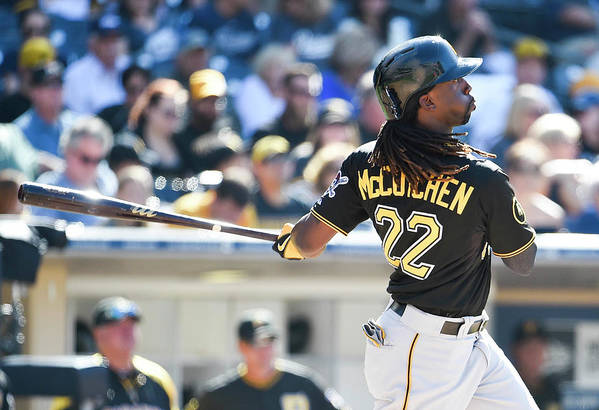 California Art Print featuring the photograph Andrew Mccutchen by Denis Poroy