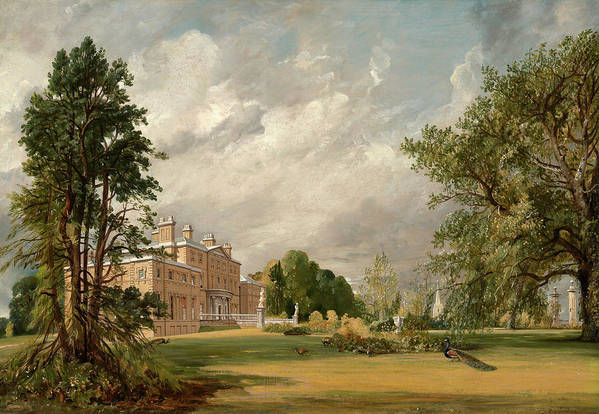 John Constable Art Print featuring the painting Malvern Hall, 1821 by John Constable