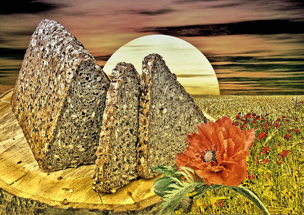 Bread Art Print featuring the photograph Bread by Manfred Lutzius