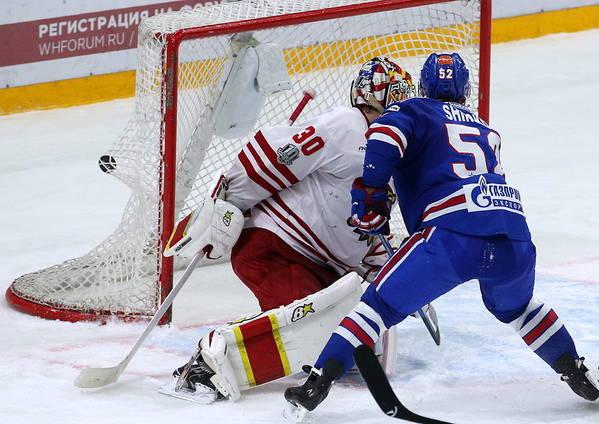 2017 18 Kontinental Hockey League Ska St Petersburg 4 3 Jokerit
