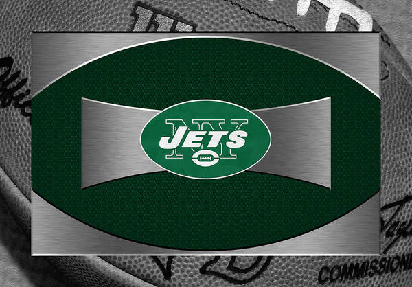 Jets Art Print featuring the photograph New York Jets by Joe Hamilton