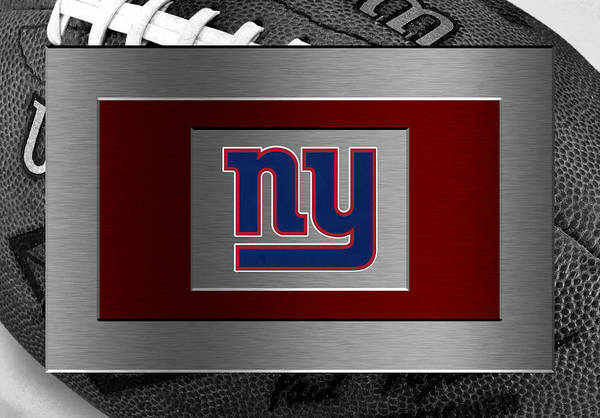 Giants Art Print featuring the photograph New York Giants by Joe Hamilton