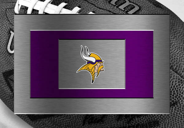 Vikings Art Print featuring the photograph Minnesota Vikings by Joe Hamilton