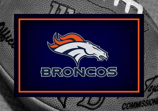 Broncos Art Print featuring the photograph Denver Broncos by Joe Hamilton
