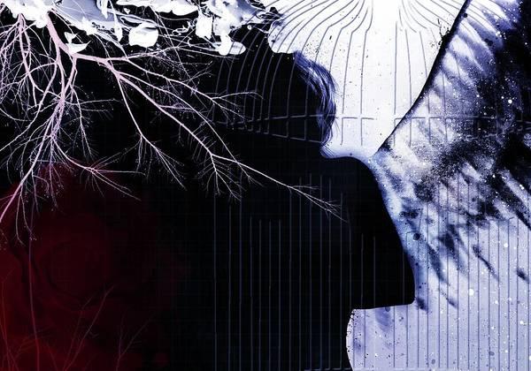 Cage Art Print featuring the digital art Am I Lost by Ankeeta Bansal