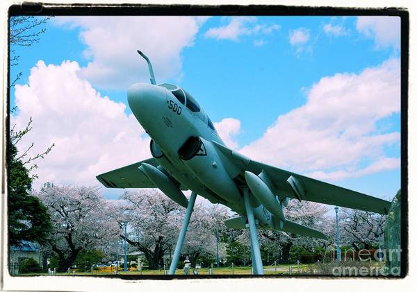 Atsugi Art Print featuring the photograph Atsugi Prowler M by Jay Mann