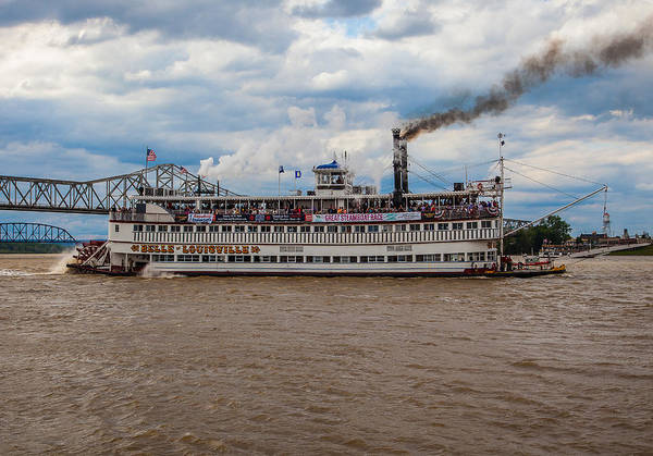 Belle Of Louisville Art Print featuring the photograph Belle Of Louisville by James Guest