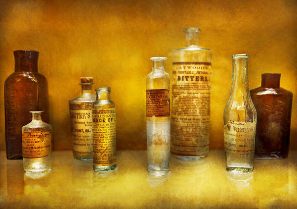 Doctor Art Print featuring the photograph Doctor - Oil Essences by Mike Savad