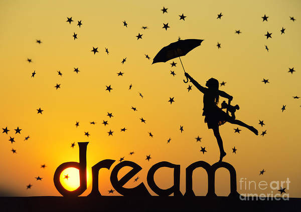 Girl Art Print featuring the photograph Dreaming by Tim Gainey
