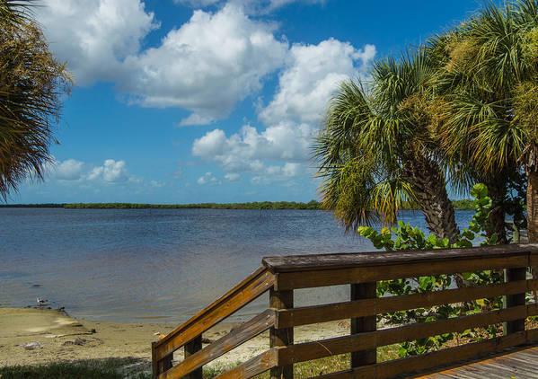 Florida Art Print featuring the photograph Florida Beach Sky Line. by Don Kerr