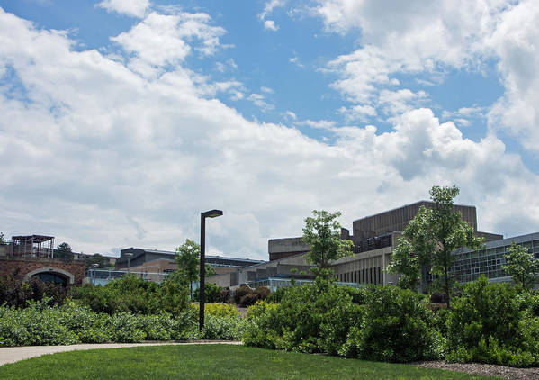 Ithaca Art Print featuring the photograph Ithaca College Campus by Photographic Arts And Design Studio