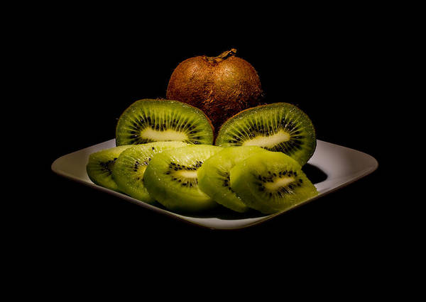 Kiwi Art Print featuring the photograph Just Kiwi by Andreas Hohl