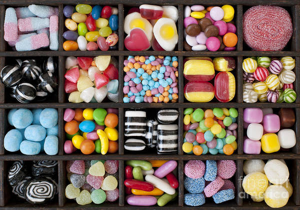 Sweets Art Print featuring the photograph Kids Sweets by Tim Gainey