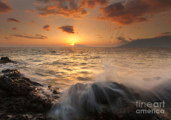 Paradise Art Print featuring the photograph Splash Of Paradise by Mike Dawson