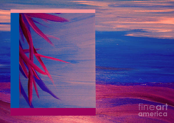 First Star Art Art Print featuring the painting Tropical Sunrise By Jrr by First Star Art