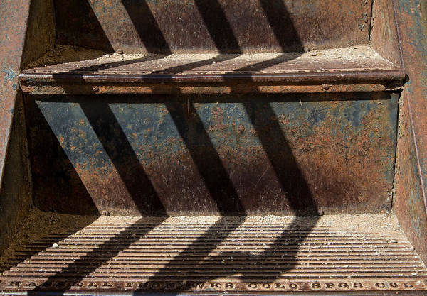 Weathered Art Print featuring the photograph Weathered Stairs by John Daly