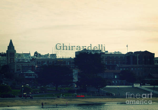 Ghirardelli Square Art Print featuring the photograph Ghirardelli Square by Linda Woods