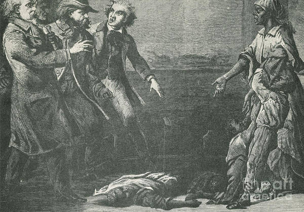 America Art Print featuring the photograph The Capture Of Margaret Garner by Photo Researchers