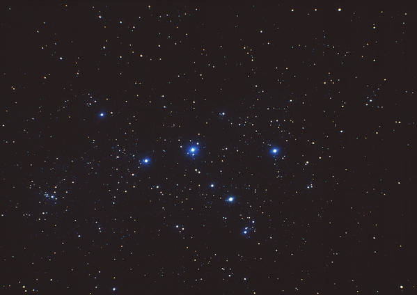 Stars Art Print featuring the photograph Cassiopeia Constellation by John Sanford