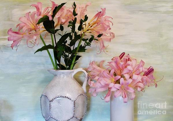 Photo Art Print featuring the photograph Last Of My Lilies by Marsha Heiken