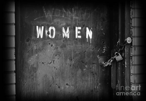 Women Art Print featuring the photograph Oppression by Luke Moore