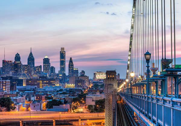 Horizontal Art Print featuring the photograph Philadelphia Skyline by Vns24@yahoo.com