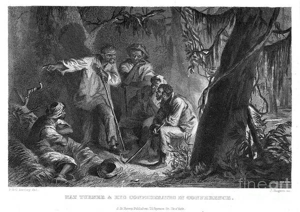 19th Century Print featuring the photograph Nat Turner (1800-1831) by Granger