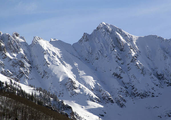 Gore Art Print featuring the photograph Gore Mountain Range Colorado by Brendan Reals