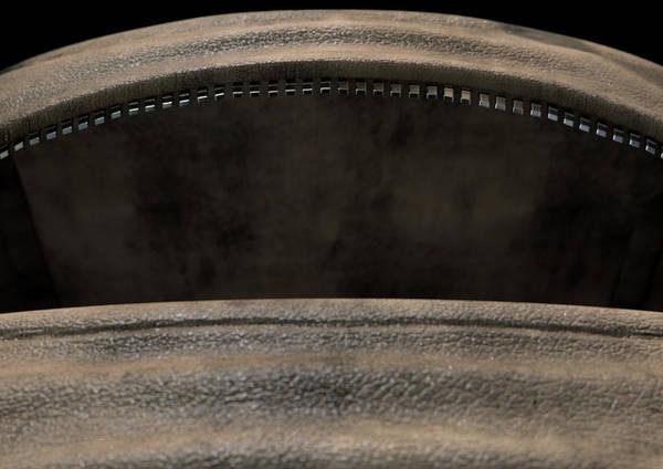 Duffel Bag Art Print featuring the digital art Open Empty Brown Duffel Bag by Allan Swart