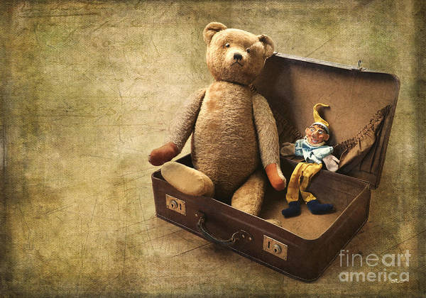 Photo Art Print featuring the photograph Aged Toys by Jutta Maria Pusl