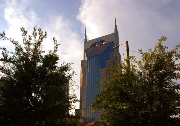 Nashville Art Print featuring the photograph Att And Batman Are The Same by Susanne Van Hulst