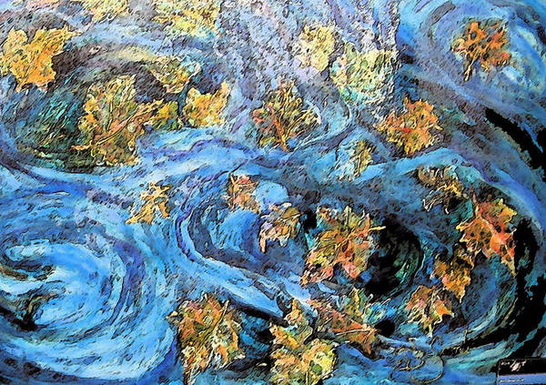 Autumn Art Print featuring the painting Autumn by Mary Sonya Conti