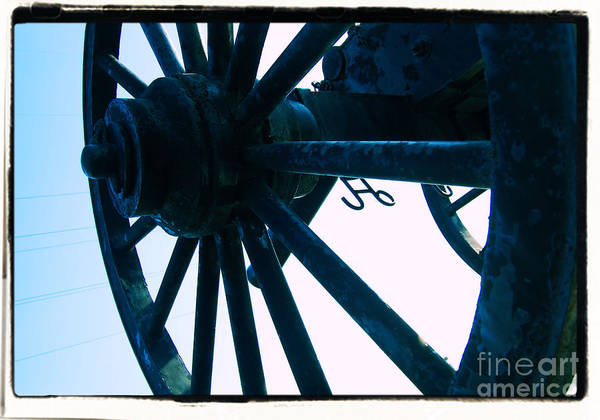 Wheel Art Print featuring the photograph Cannon by Jessa DeNuit