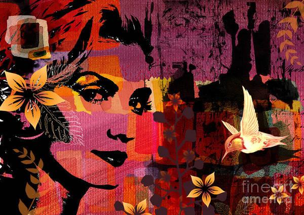 Illustration Art Print featuring the digital art Celebrating Life by Ramneek Narang