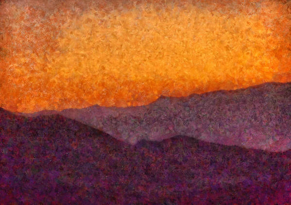 Savad Art Print featuring the photograph City - Arizona - Rolling Hills by Mike Savad