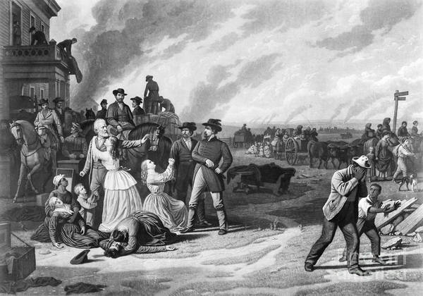 1863 Art Print featuring the photograph Civil War: Martial Law by Granger