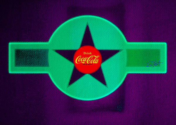Label Art Print featuring the painting Coke N Lime by Charles Stuart