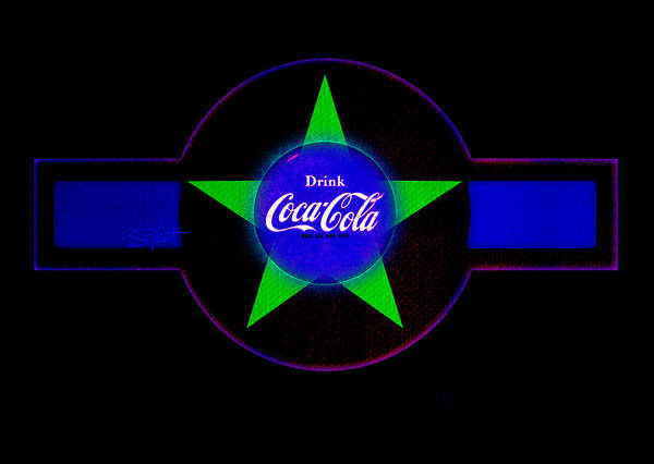 Label Art Print featuring the painting Cola N Lime II by Charles Stuart