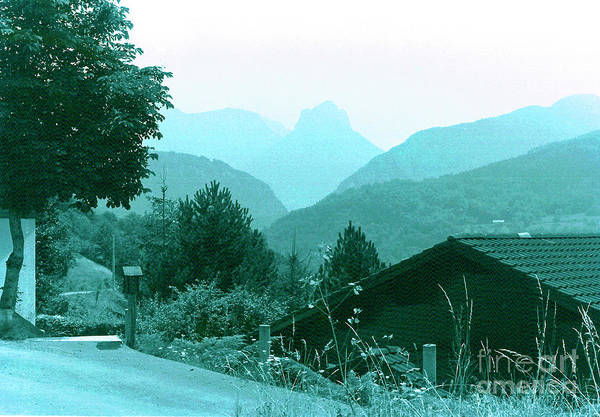 France Art Print featuring the photograph Foothills Of The Alps by Fred Jinkins