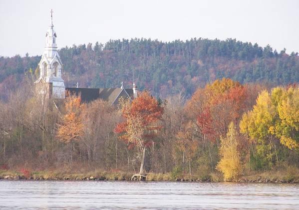 Church Art Print featuring the photograph Grenville Quebec - Photograph by Jackie Mueller-Jones