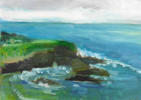 100 Paintings Art Print featuring the painting La Jolla Cove 026 by Jeremy McKay