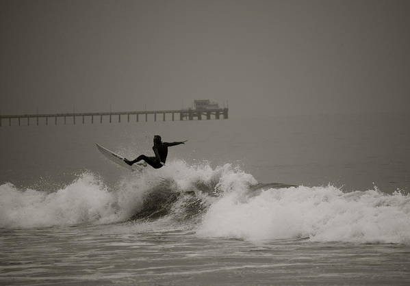 Surf Art Print featuring the photograph Newport by Moby Kane