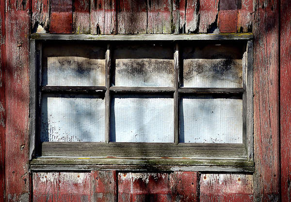 Barn Art Print featuring the photograph Old Barn Window by Kevin Felts