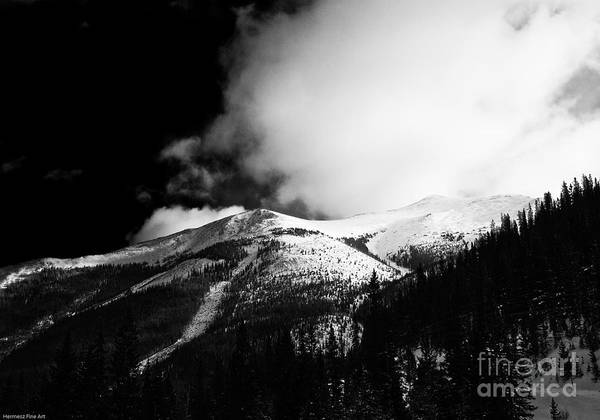 Landscape Art Print featuring the photograph Pikes Peak Western Slope by John Hermann